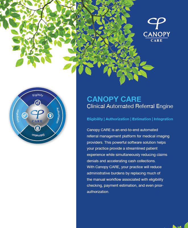 Canopy CARE Brochure